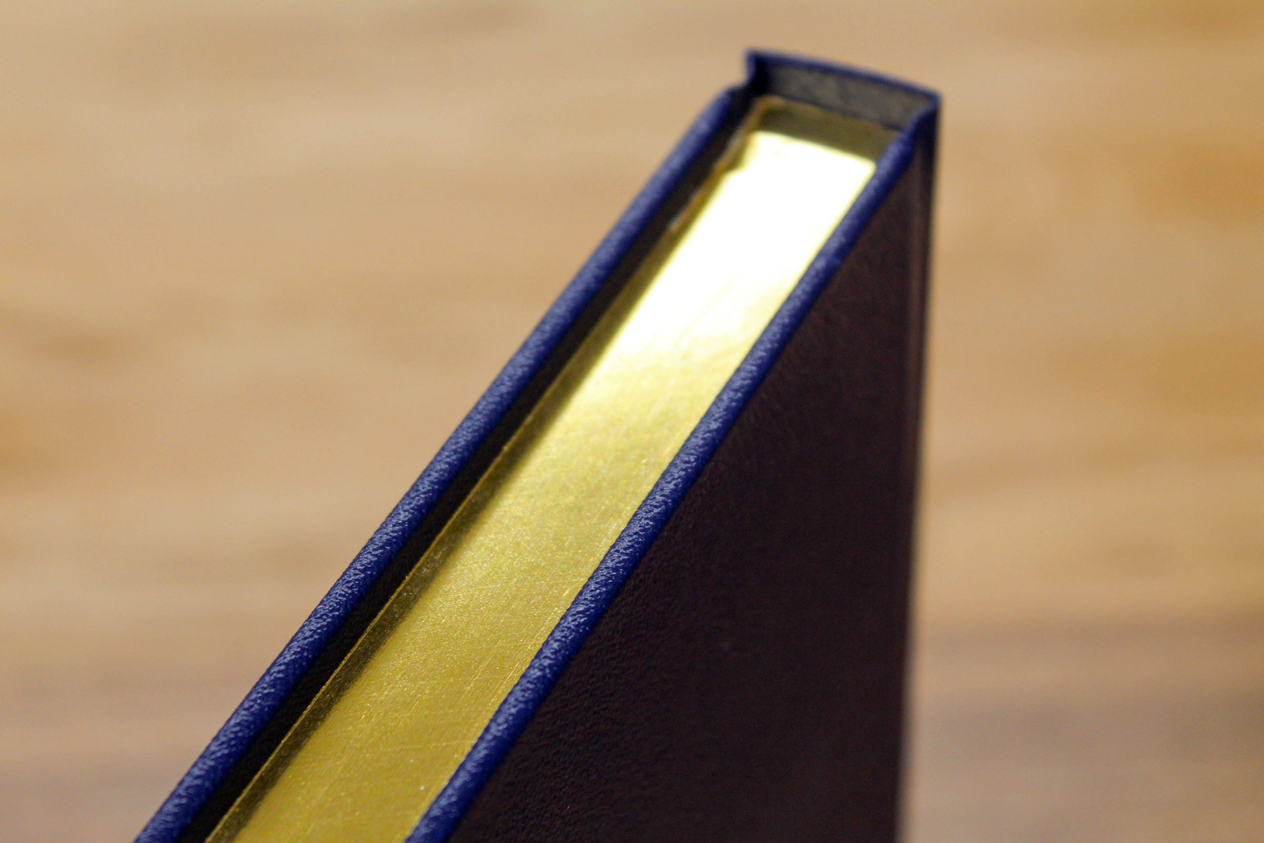 gold edge pages book