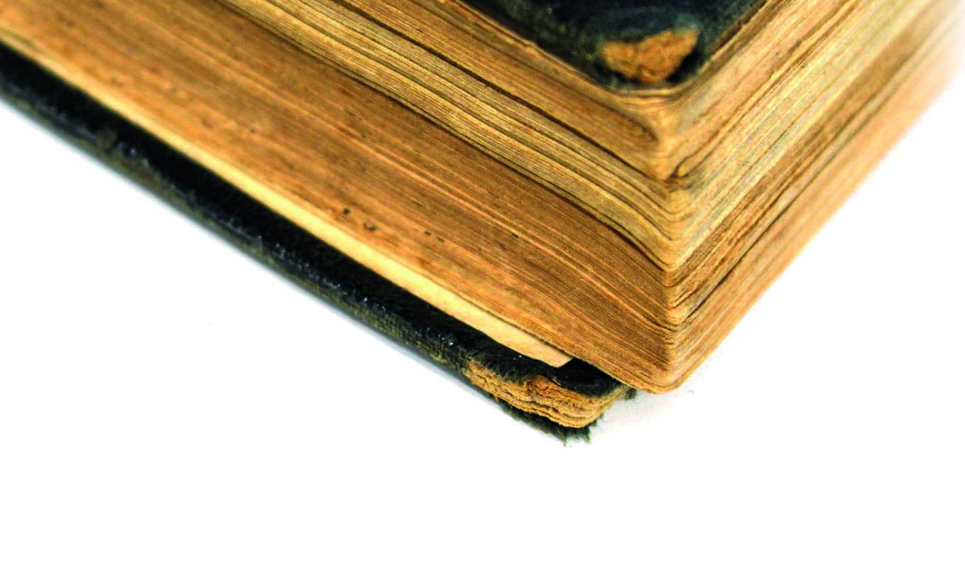 Book restoration and repair Manchester Walker Print